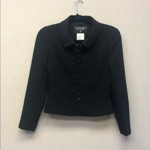 Chanel black suit- Blazer and Skirt